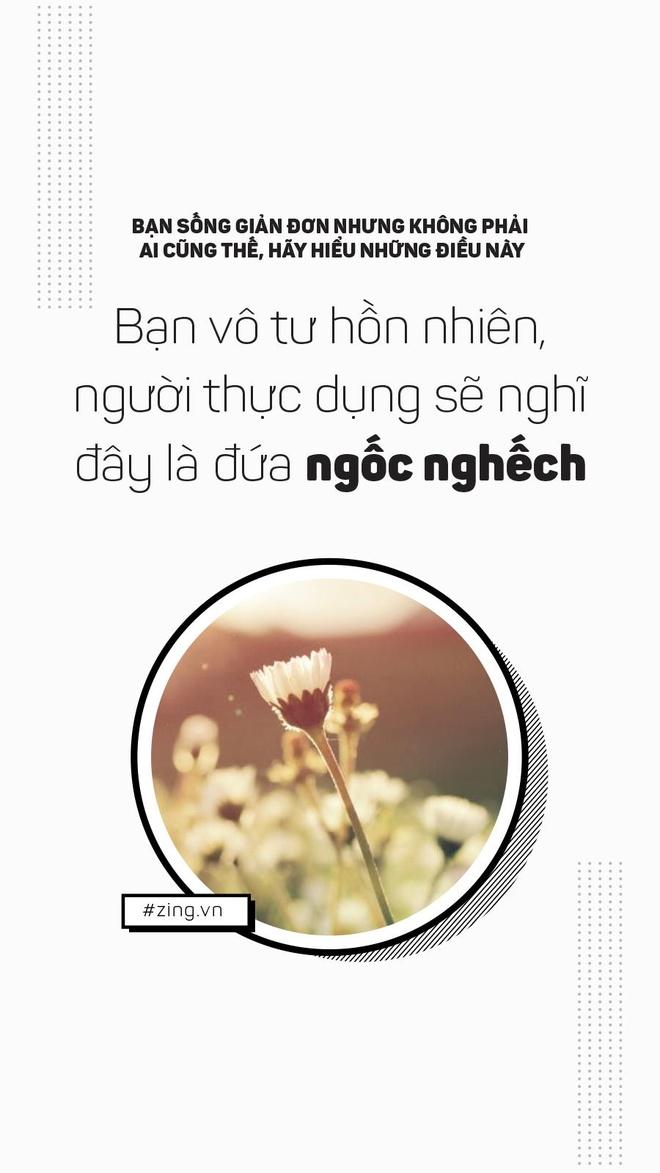 Ban song don gian, nhung khong phai ai cung nhu vay hinh anh 8