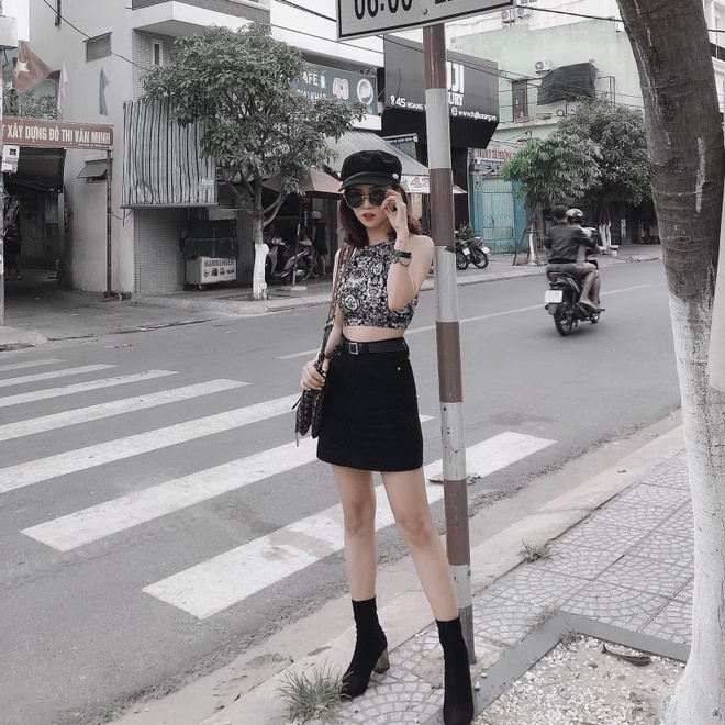 Dan hot girl DH Duy Tan toan nguoi dep, mau anh noi tieng Da Nang hinh anh 4