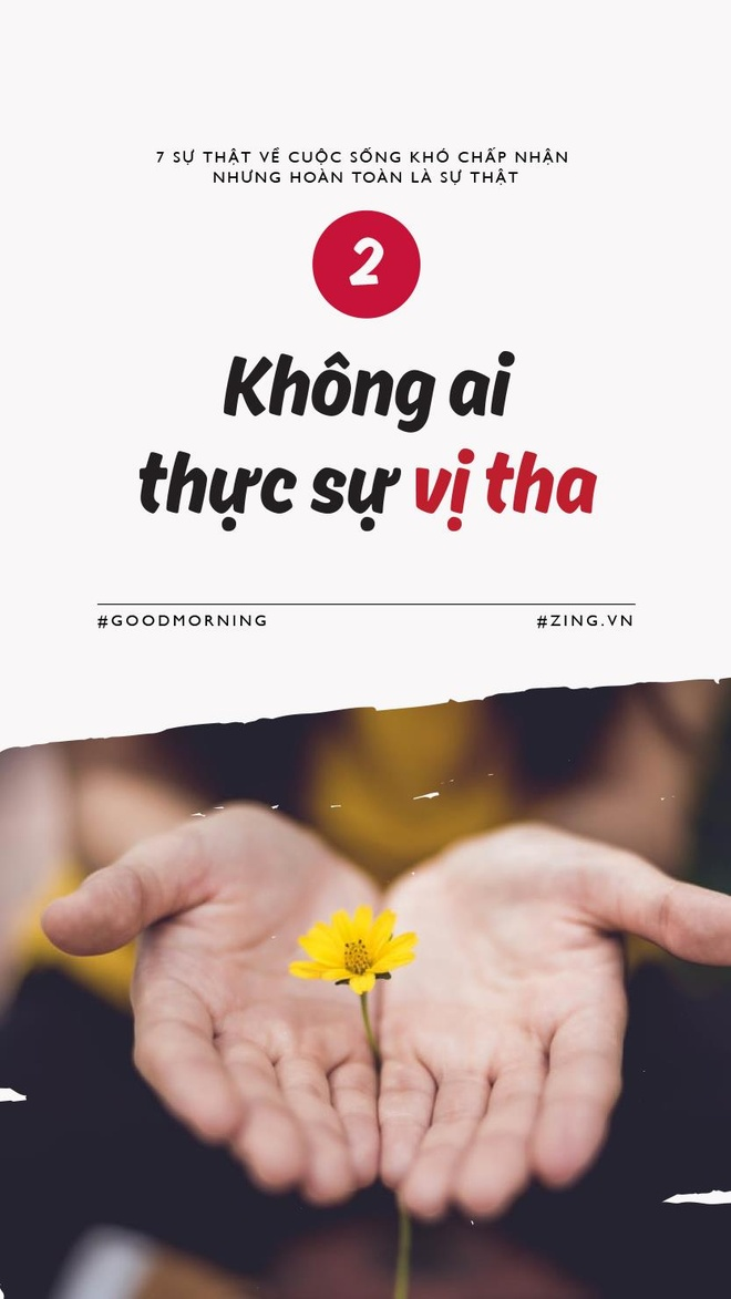 7 su that ve cuoc song kho chap nhan nhung hoan toan la su that hinh anh 3