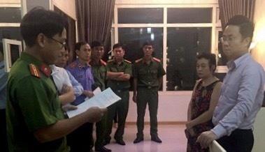 Ông Lâm Hoàng Tùng yêu cầu có mẹ chứng kiến khi cảnh sát khám nhà