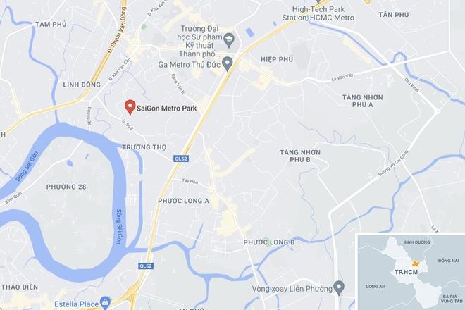 TP Thu Duc phong toa chung cu Sai Gon Metro Park anh 2