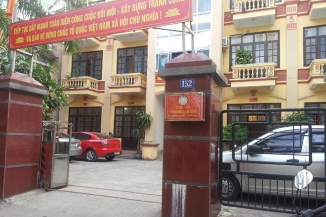 Trụ sở Công an phường Lam Sơn, nơi xảy ra vụ việc