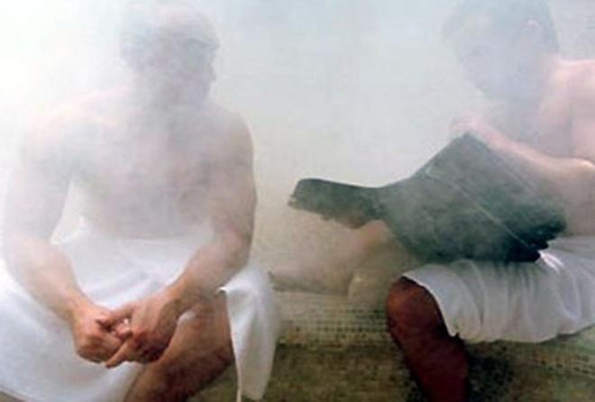 Co the vo sinh vi 'nghien' xong hoi hinh anh 1 Xông hơi quá nhiều có thể khiến nam giới mắc chứng vô sinh. Ảnh minh họa