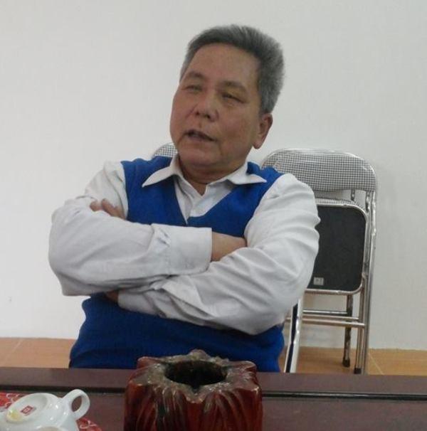 Ông Nguyễn Đình Lợi  - Chi hội trưởng người cao tuổi phố Thượng, phường Khắc Niệm, thành phố Bắc Ninh)