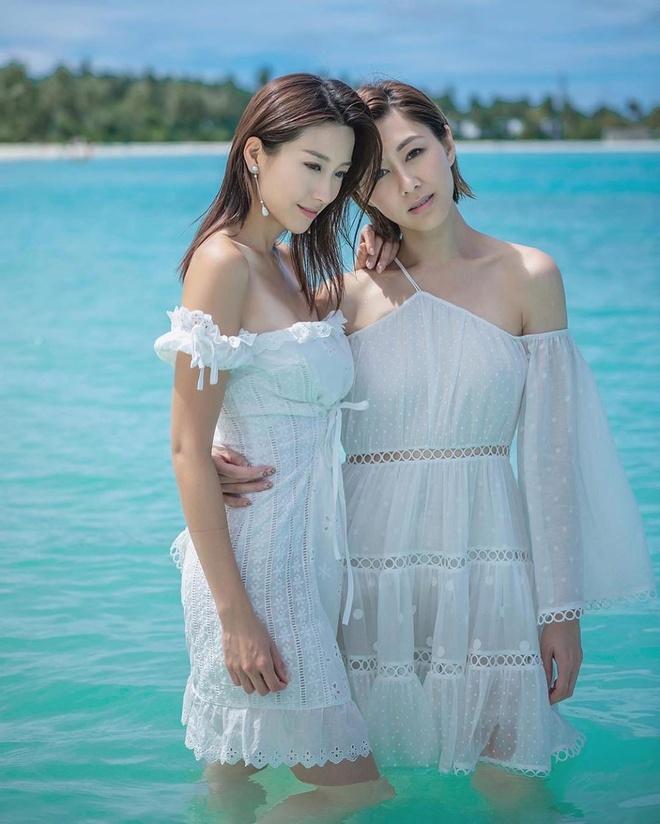 Anh hau TVB chup anh ban nude o Maldives hinh anh 4