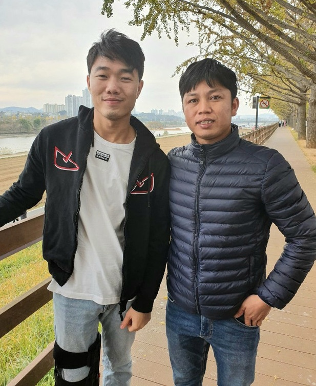 Nu cuoi lac quan cua Xuan Truong o Han Quoc hinh anh 1