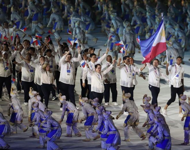 Philippines du kien to chuc le khai mac SEA Games o san trong nha hinh anh 1
