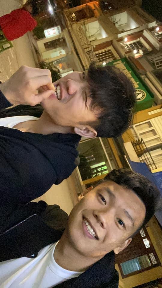 Xuan Truong cung Thanh Chung di tham thay dip Tet hinh anh 3