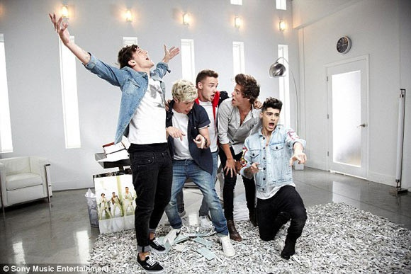 The Wanted tuyen bo cham dut canh tranh voi One Direction hinh anh