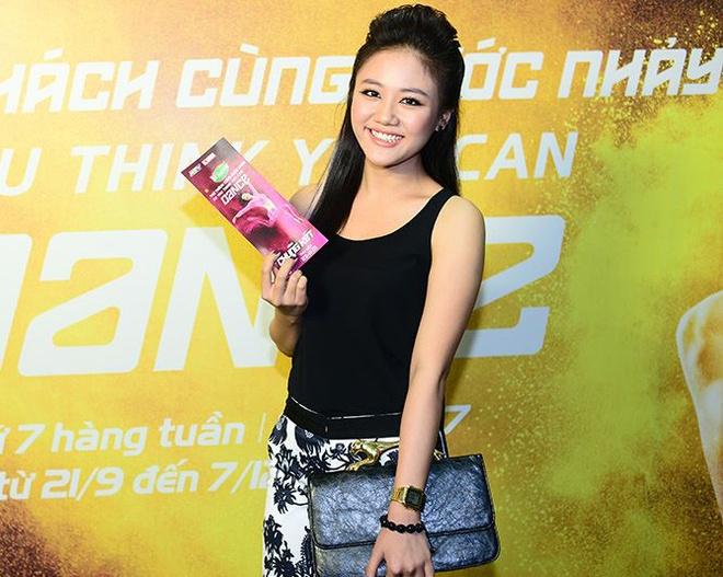 Van Mai Huong le bong di xem nhay hinh anh