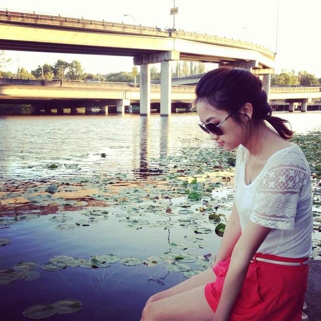 Can nhan sac xinh dep cua 'vo Lam Truong' hinh anh 8
