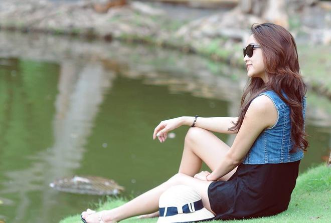 Can nhan sac xinh dep cua 'vo Lam Truong' hinh anh 7
