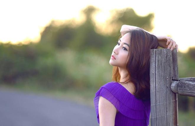 Can nhan sac xinh dep cua 'vo Lam Truong' hinh anh 1