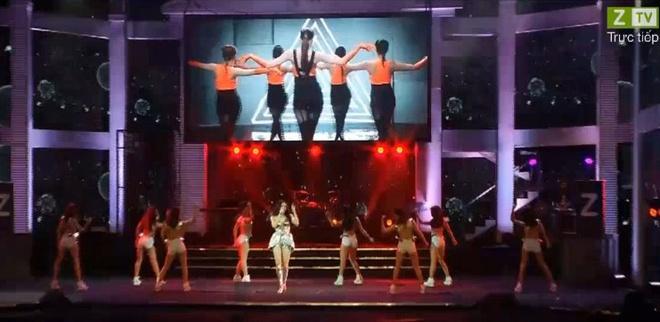 Gala Zing Music Awards 2013 dan dau BXH TV Show hinh anh