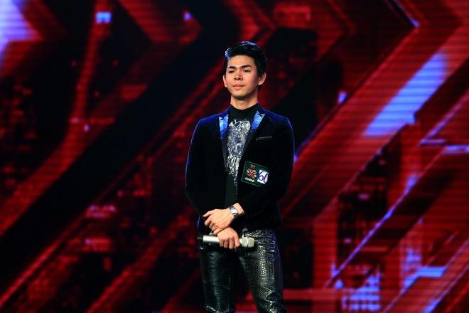Co gai deo mat na X Factor khien Mr Dam sung sot hinh anh 4 Phùng Gia Dương - thí sinh nỗi loạn.