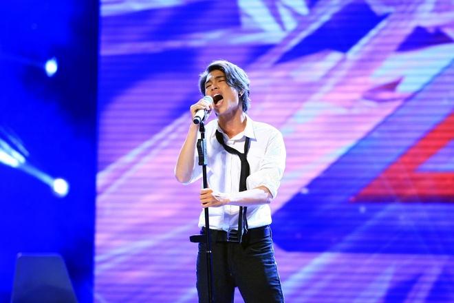Dam Vinh Hung nai ni Ho Ngoc Ha dong vai thien o X Factor hinh anh 2 Lê Tích Kỳ mạnh mẽ hơn