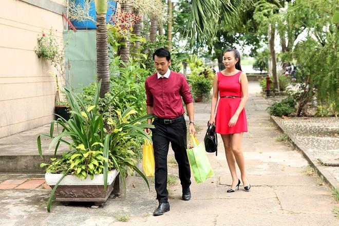 Phan Nhu Thao cap ke voi Duy Nhan trong phim moi hinh anh 6 Ngoài việc đảm nhận vai nữ chính, Phan Như Thảo còn gặp thách thức khi cô phải thể hiện nhạc phim.