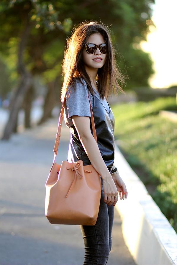 Bucket bag - Chiec tui xach khong the bo lo mua thu 2014 hinh anh 1