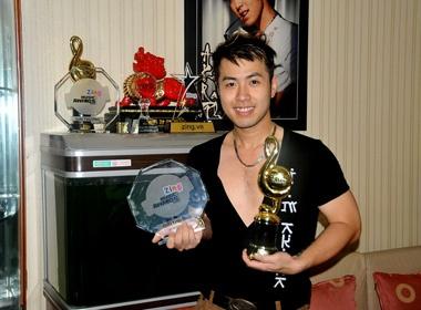 Akira Phan noi bat voi am nhac online rieng biet hinh anh 2 Anh được vinh danh ở ZMA.