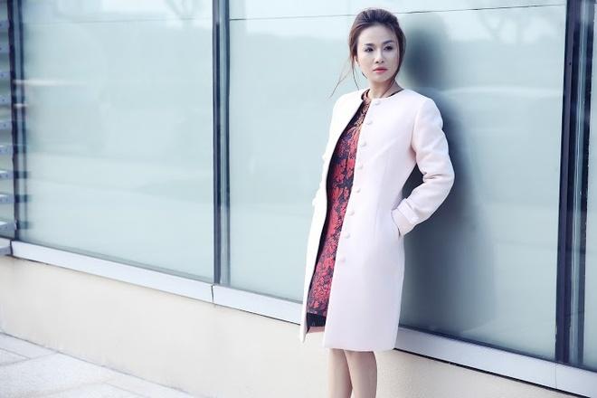 Lam Anh xinh dep rang ngoi sau vu tai nan voi Quang Le hinh anh 6 6