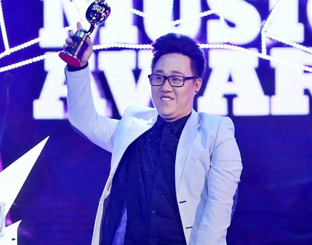'Trot yeu' cua Trung Quan Idol khuynh dao giai thuong ZMA hinh anh