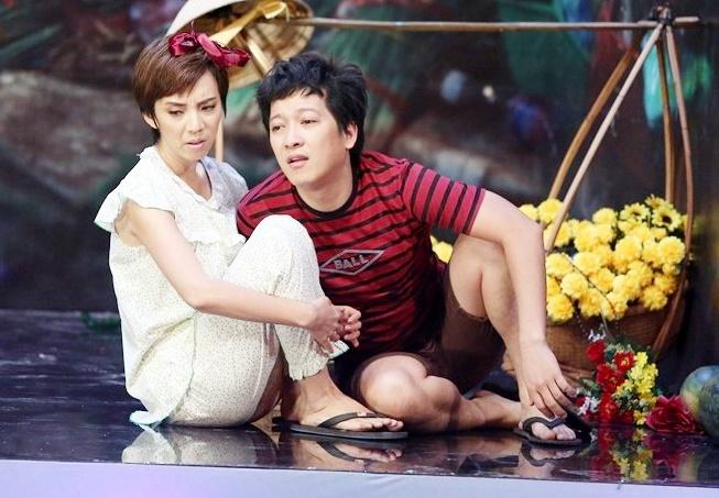 Truong Giang, Thu Trang roi nuoc mat khi dien hai kich hinh anh