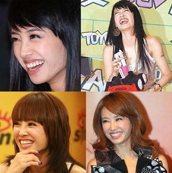 My nhan Cbiz bi che xau vi nu cuoi hinh anh 13 Thái Y Lâm luôn thích cười hết ga.