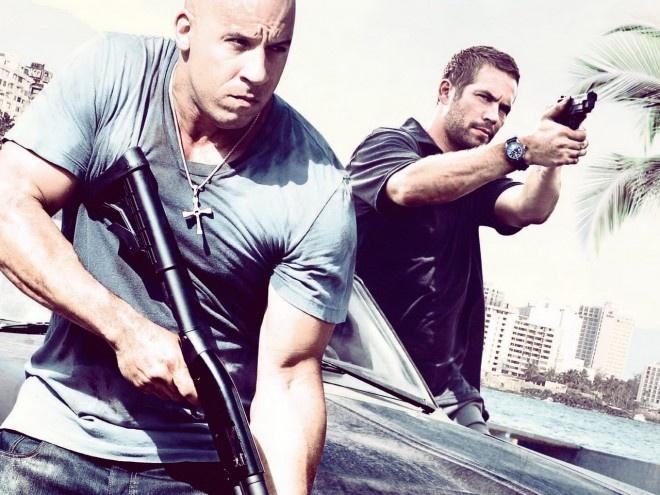 """Vin Diesel xung danh thu linh hinh anh 2 Sau khi Fast and Furious 4 được ra mắt , Vin Diesel trở thành linh hồn của bộ phim và """"trên cơ"""" Paul Walker."""
