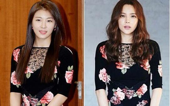 My nhan Han - ai dep hon khi 'dung hang'? hinh anh