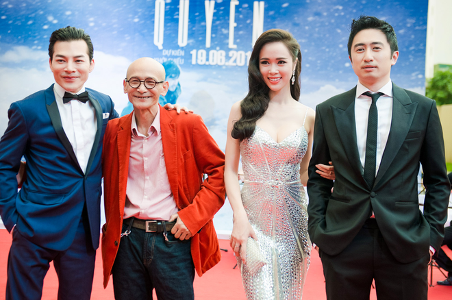 Dan sao Ha Noi chuc mung ra mat phim 'Quyen' hinh anh
