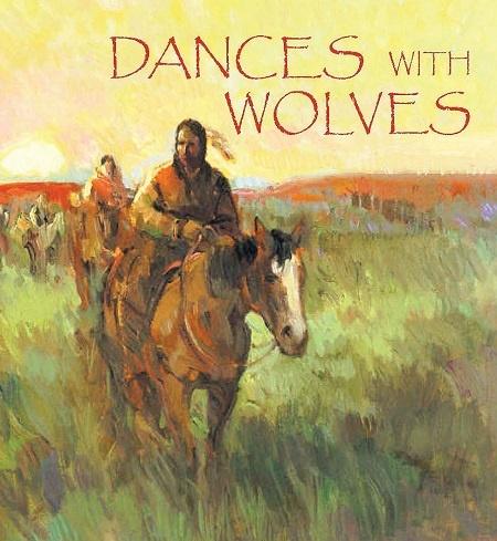 25 nam bo phim 'Khieu vu voi bay soi' hinh anh 2 Kịch bản Khiêu vũ với bầy sói dựa trên tiểu thuyết cùng tên phát hành năm 1988 của nhà văn Michael Blake. Tuy nhiên phiên bản điện ảnh có nhiều khác biệt so với tiểu thuyết gốc.