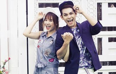Hari Won - Son Ngoc Minh so ke Son Tung M-TP tren BXH hinh anh