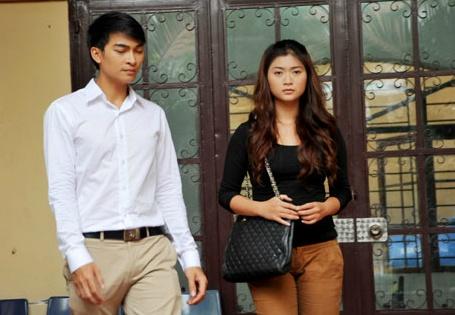 Thanh Truc va Khuong Ngoc la hai duong thang song song hinh anh