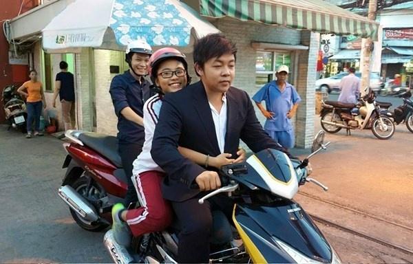 Moi quan he bat thuong giua Quang Le va con gai nuoi hinh anh 2 Hình ảnh khiến Quang Lê bị