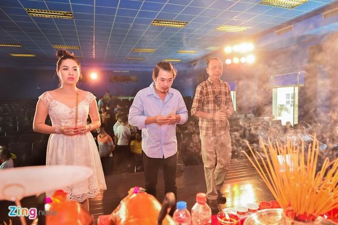 Sao Viet cung To o nha rieng Minh Nhi, san khau Thanh Loc hinh anh 5