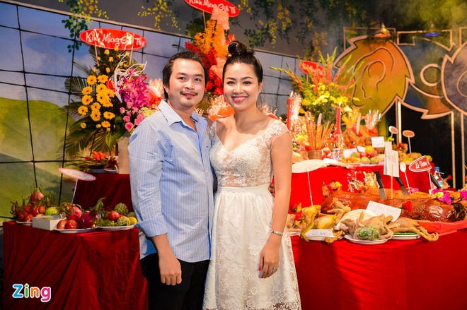 Sao Viet cung To o nha rieng Minh Nhi, san khau Thanh Loc hinh anh 4