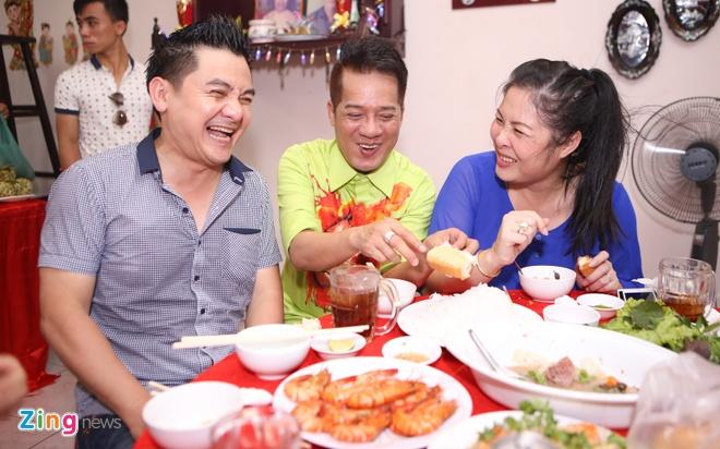Sao Viet cung To o nha rieng Minh Nhi, san khau Thanh Loc hinh anh 14