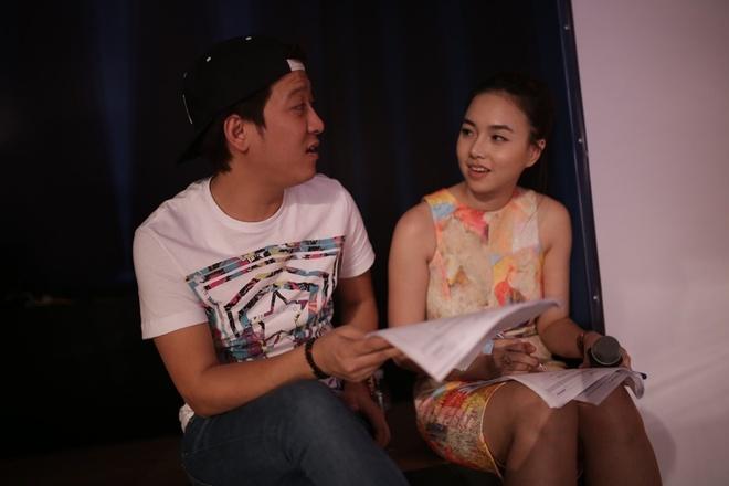 Truong Giang - Dinh Ngoc Diep an voi banh mi de quay hinh hinh anh 2