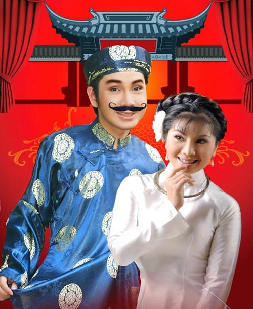 NSUT Tu Suong: 'Cai luong dang rat tham hai' hinh anh 1 Tú Sương - Vũ Luân là cặp đôi vàng của cải lương.