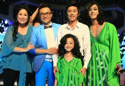 Hoai Linh bat ngo vi phien ban nhi cua Thanh Lam hinh anh