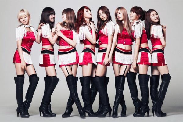 Nhung ca khuc Kpop thong tri BXH nhung khong the giat cup hinh anh 1 After School với ca khúc Bang!.