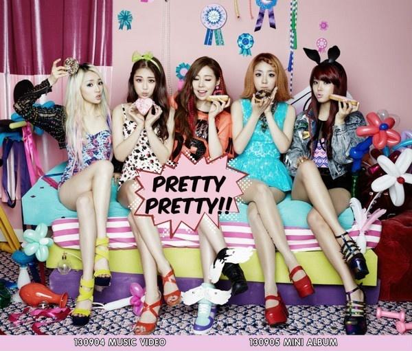 Nhung ca khuc Kpop thong tri BXH nhung khong the giat cup hinh anh 4 Pretty Pretty của nhóm Ladies' Code thiếu may mắn