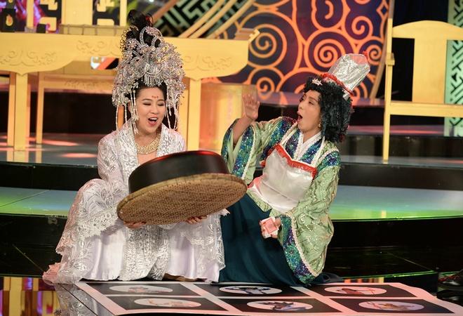 Le Khanh - Thu Trang hoc theo than bai TVB de dien hai hinh anh 1