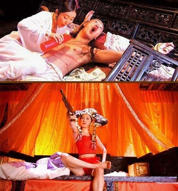 Nhung canh nong bi chi trich trong phim co trang Hoa, Han hinh anh 10 Vi Tiểu Bảo