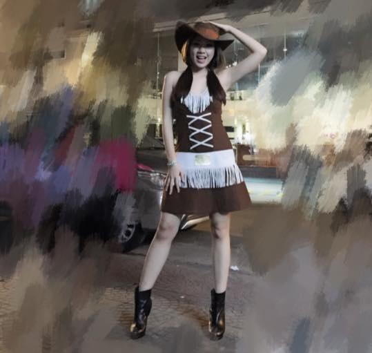 Sao Viet hoa trang rung ron trong ngay hoi Halloween hinh anh 5