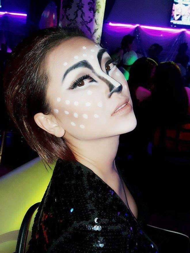 Sao Viet hoa trang rung ron trong ngay hoi Halloween hinh anh 9