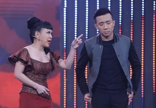 Tran Thanh dam duoi truoc nhan sac cua Viet Huong hinh anh
