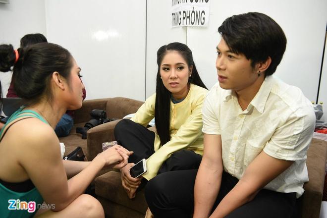 Quy Binh den truong quay co vu ban gai Le Phuong hinh anh 3