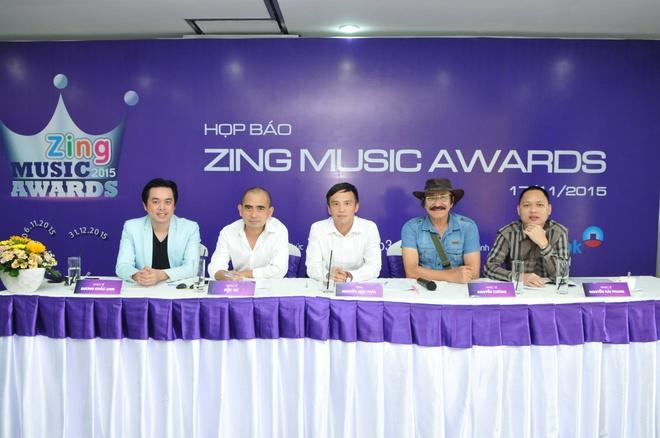 Son Tung M-TP canh tranh Mr. Dam o Zing Music Awards 2015 hinh anh 3