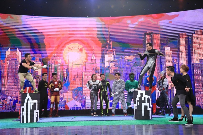 Ban gai Pham Van Mach chiu choi trong game show hinh anh 11